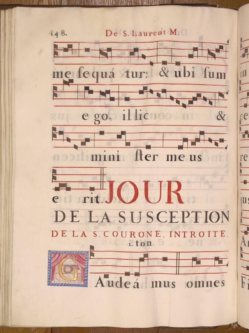 Abbeville, Bibl. mun., ms. 0021, p. 148 - vue 1