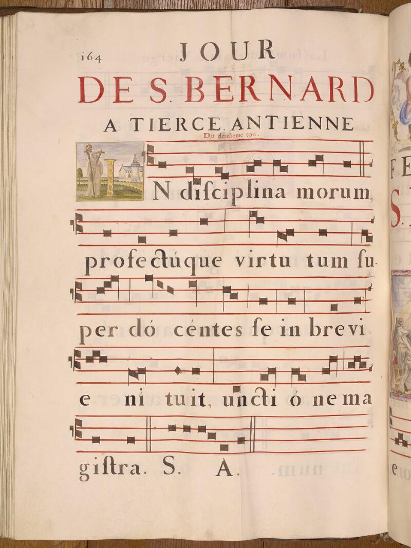 Abbeville, Bibl. mun., ms. 0021, p. 164 - vue 1