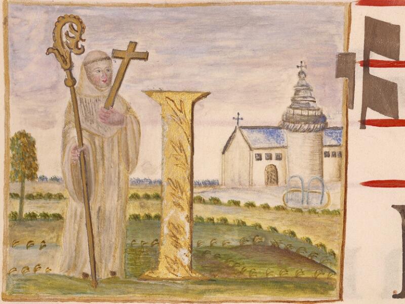 Abbeville, Bibl. mun., ms. 0021, p. 164 - vue 2