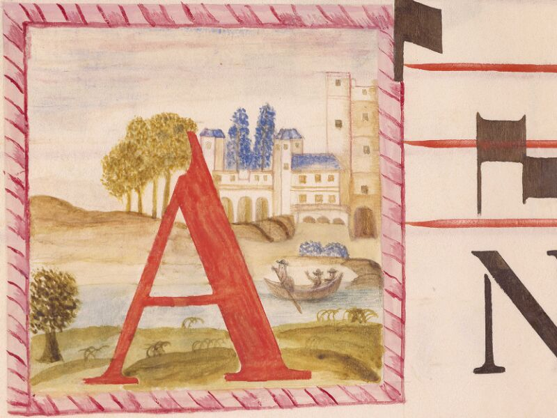Abbeville, Bibl. mun., ms. 0021, p. 197 - vue 2
