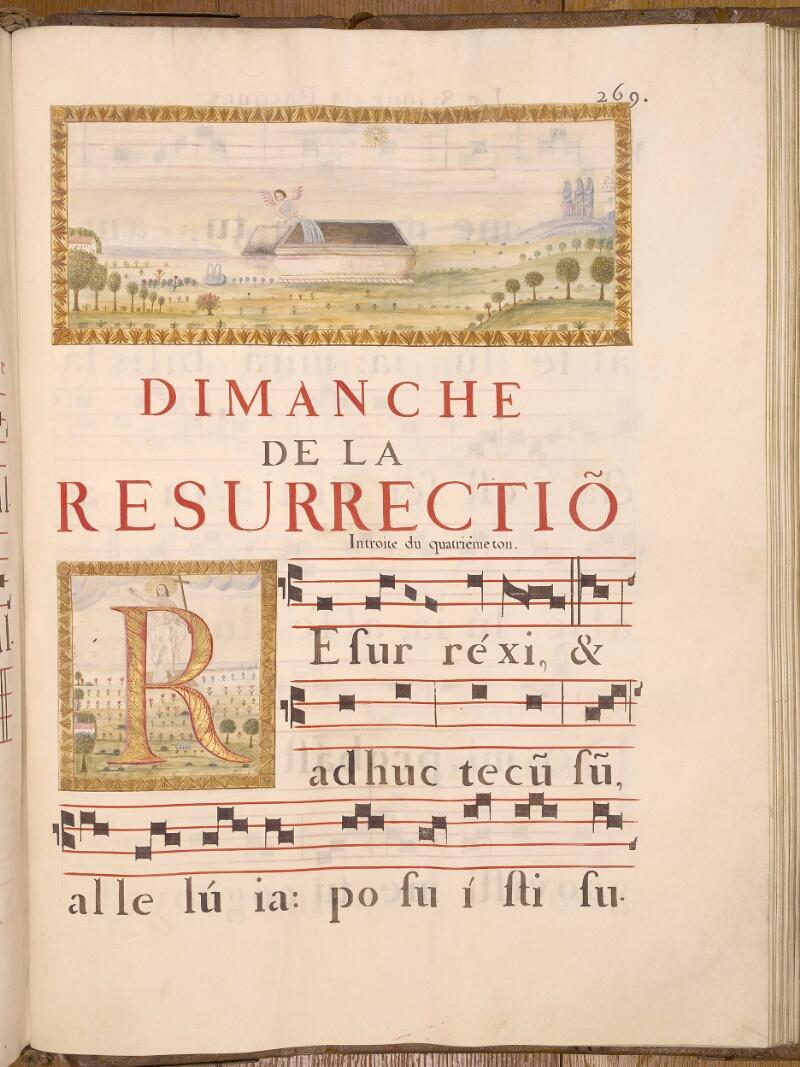 Abbeville, Bibl. mun., ms. 0021, p. 269 - vue 1