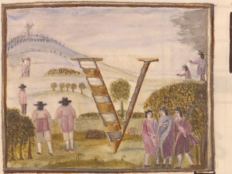Abbeville, Bibl. mun., ms. 0021, p. 275 - vue 2