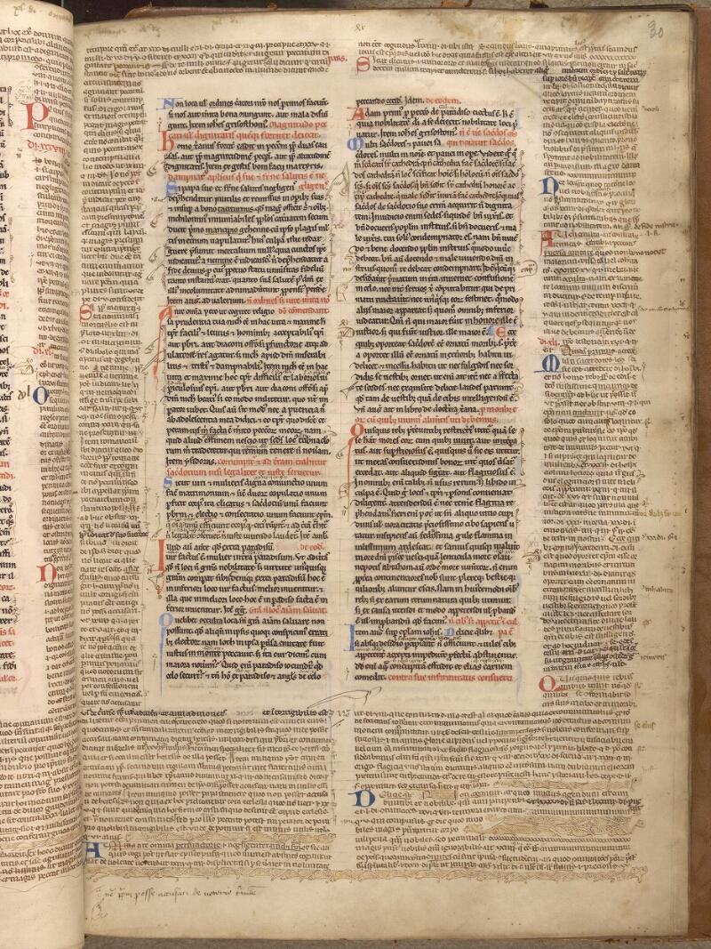 Abbeville, Bibl. mun., ms. 0033, f. 030 - vue 1