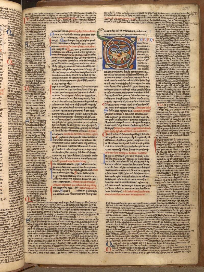 Abbeville, Bibl. mun., ms. 0033, f. 100 - vue 1