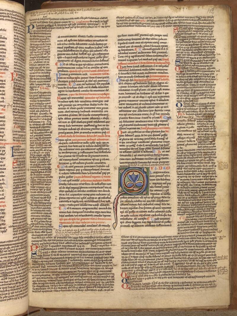 Abbeville, Bibl. mun., ms. 0033, f. 102 - vue 1