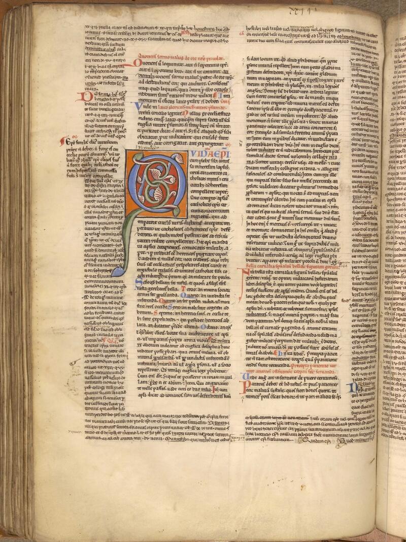 Abbeville, Bibl. mun., ms. 0033, f. 156v - vue 1