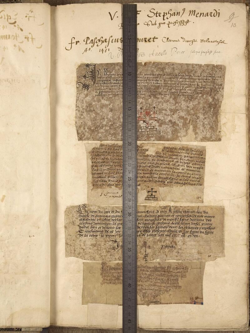 Abbeville, Bibl. mun., ms. 0191, f. 010 - vue 1