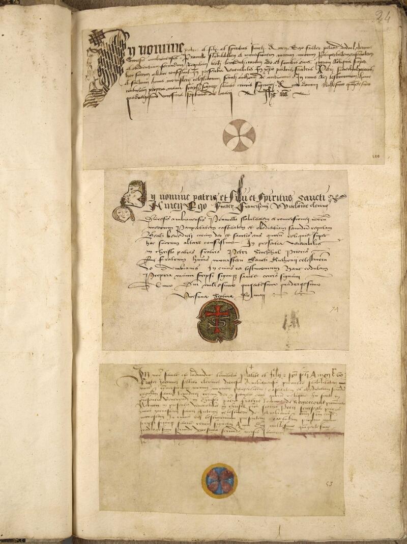 Abbeville, Bibl. mun., ms. 0191, f. 024 - vue 1