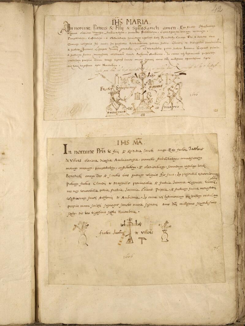 Abbeville, Bibl. mun., ms. 0191, f. 042 - vue 1