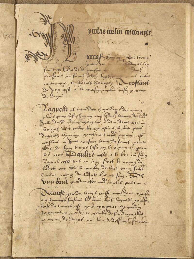 Abbeville, Bibl. mun., ms. 0412, t. II, B f. 002 - vue 2