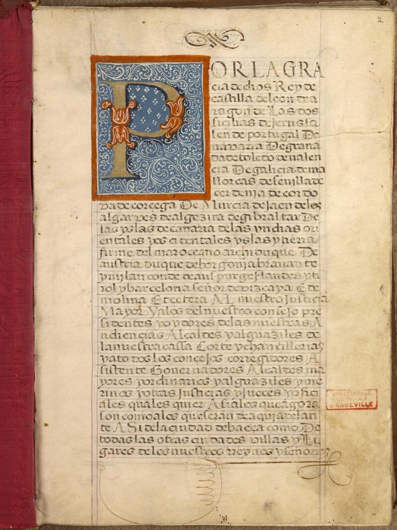 Abbeville, Bibl. mun., ms. 0853, f. 002 - vue 1