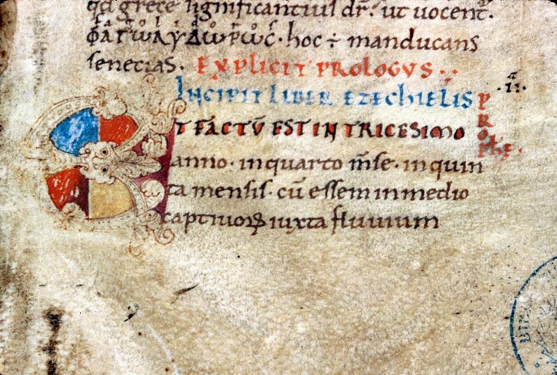 Alençon, Bibl. mun., ms. 0001, f. 002 - vue 3