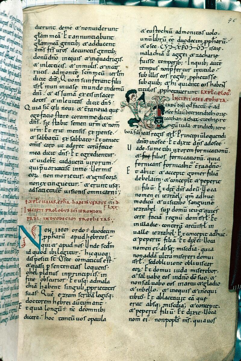 Alençon, Bibl. mun., ms. 0001, f. 076 - vue 1