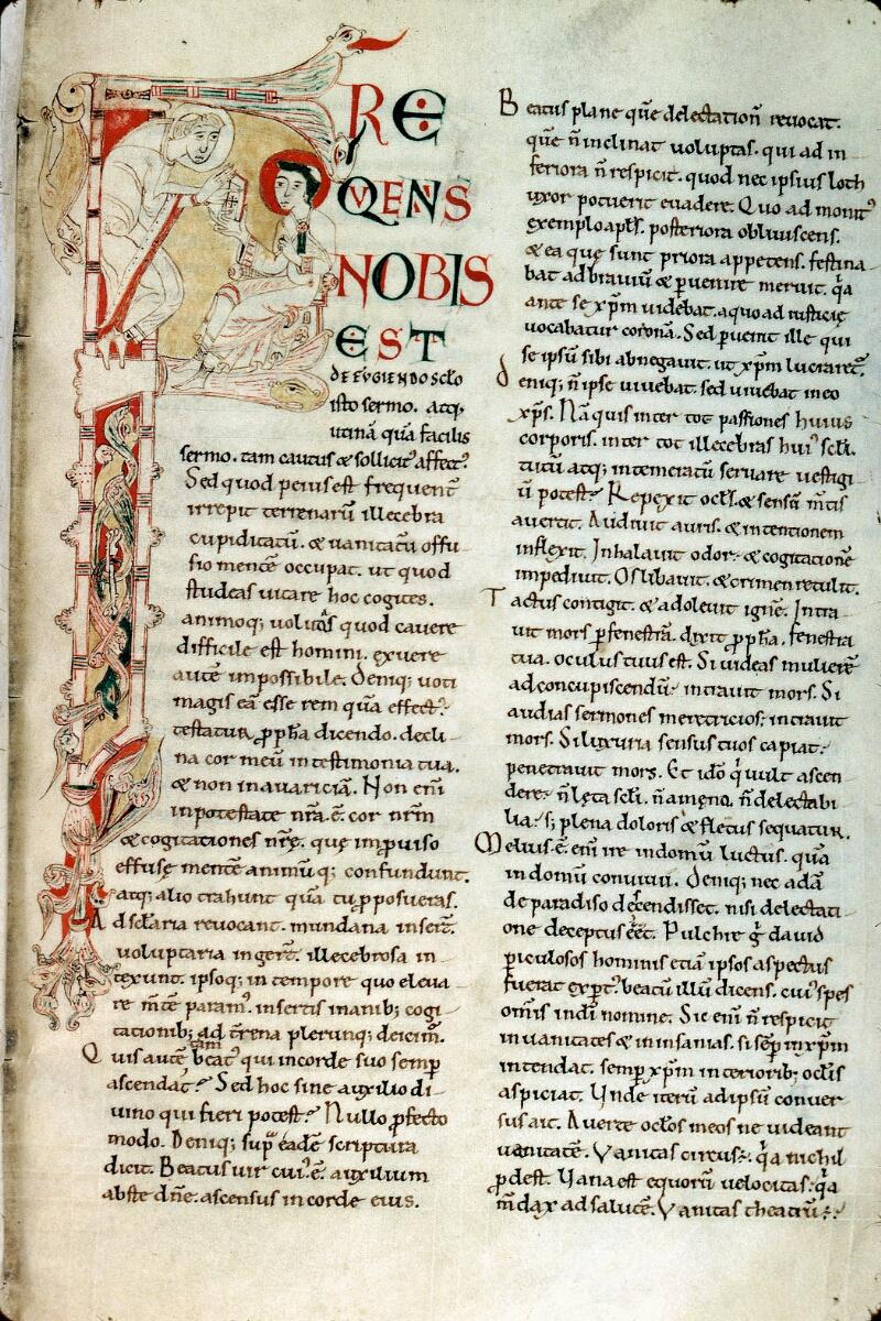 Alençon, Bibl. mun., ms. 0007, f. 128 - vue 1