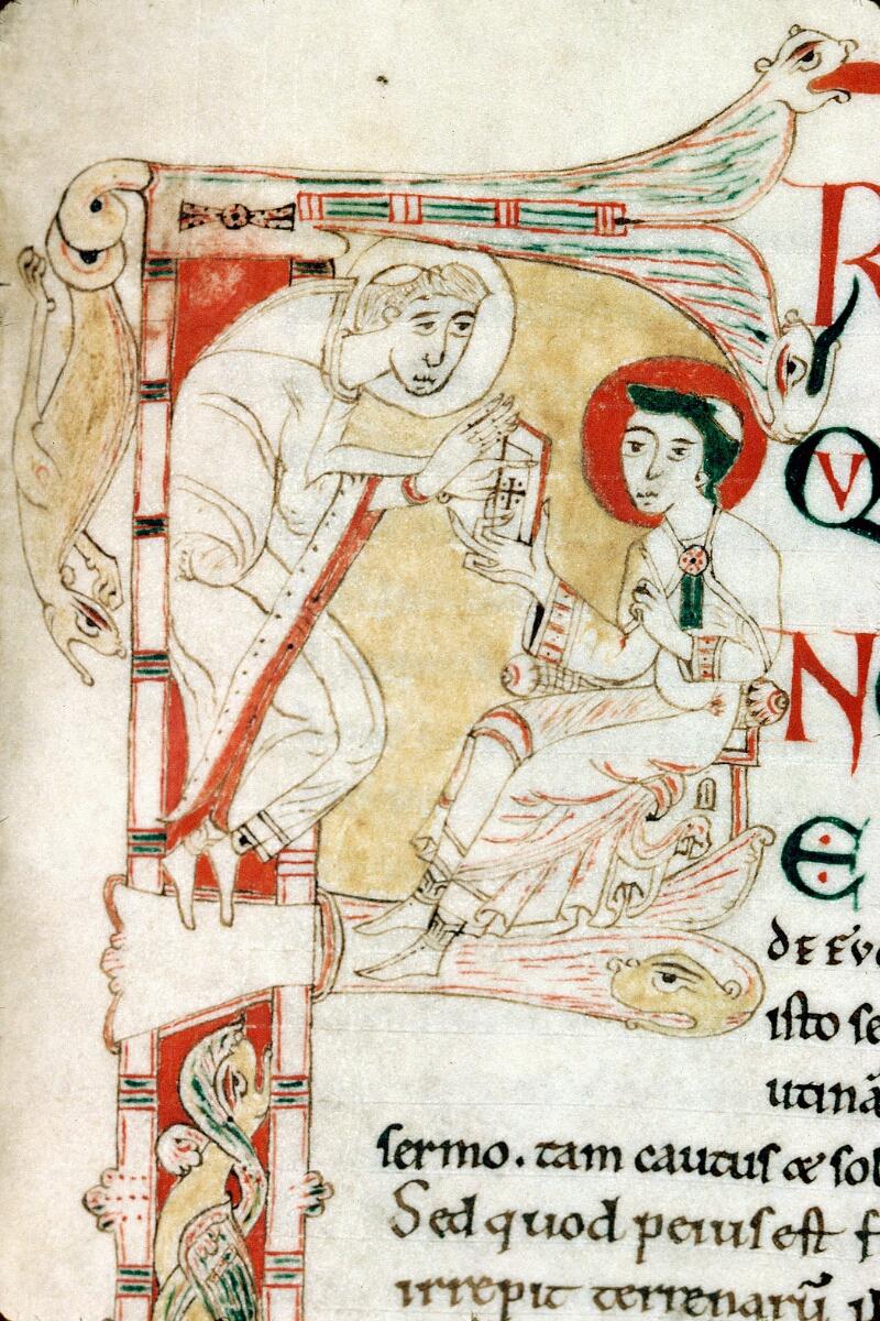 Alençon, Bibl. mun., ms. 0007, f. 128 - vue 2