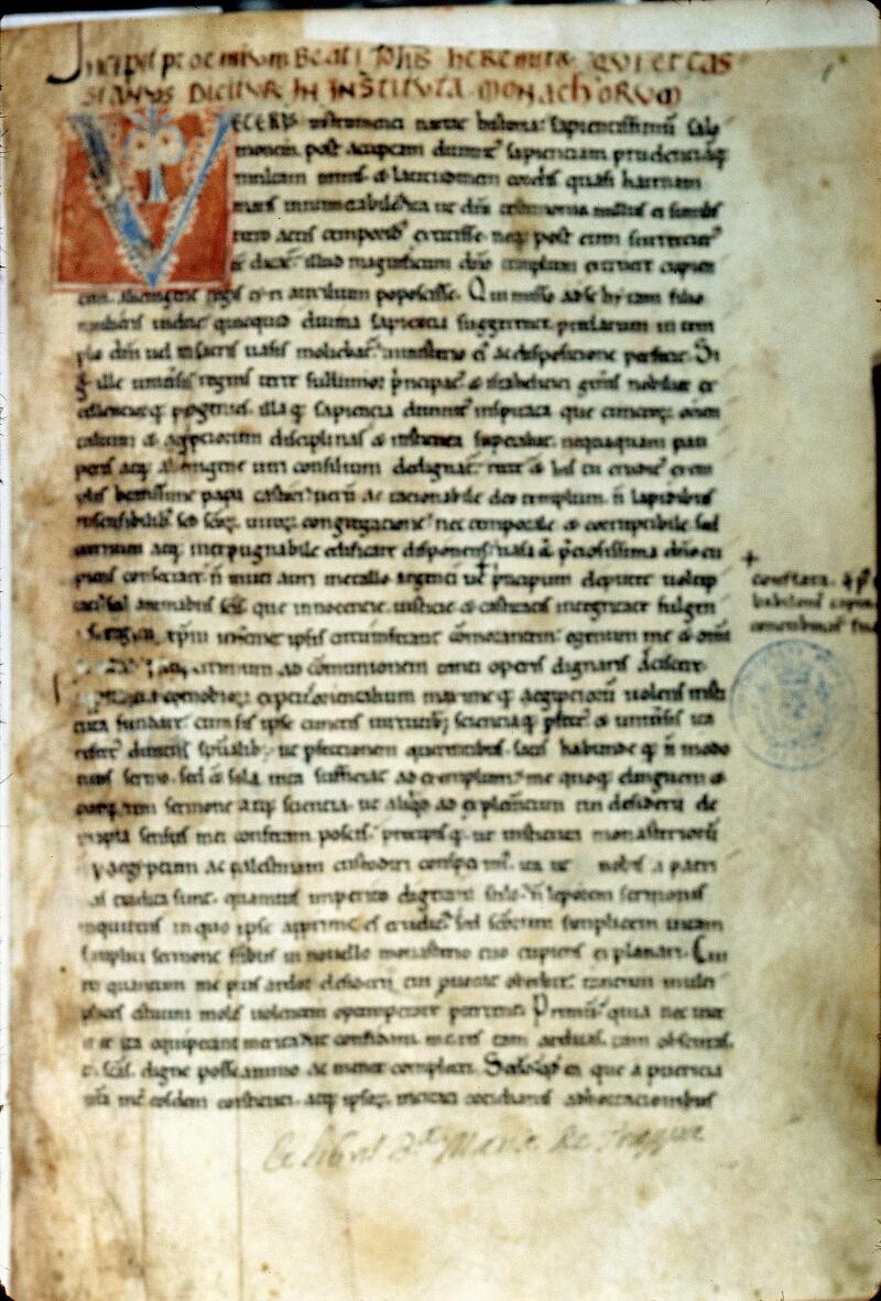 Alençon, Bibl. mun., ms. 0008, f. 001