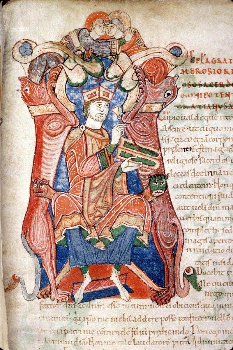 Alençon, Bibl. mun., ms. 0011, f. 001 - vue 3