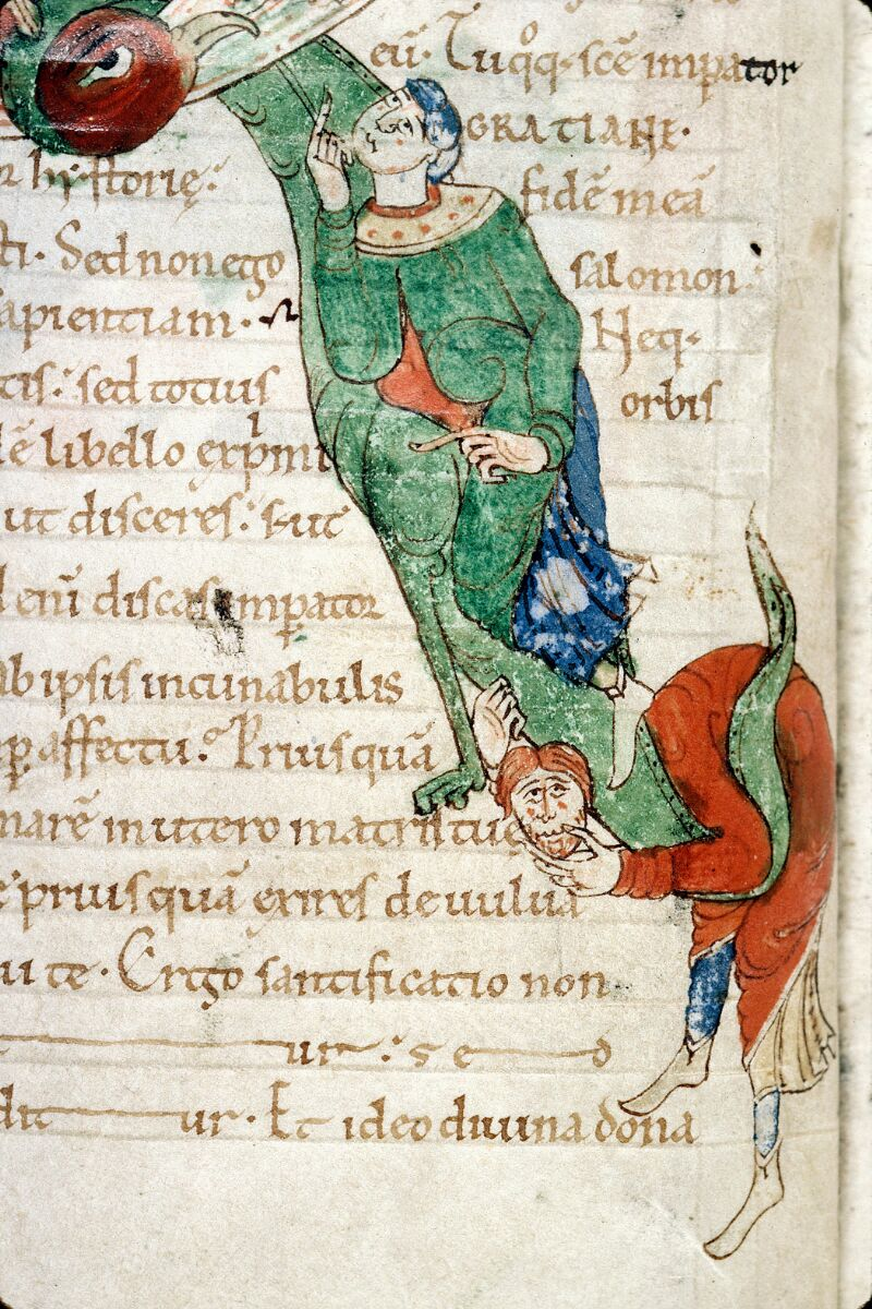 Alençon, Bibl. mun., ms. 0011, f. 001v - vue 4