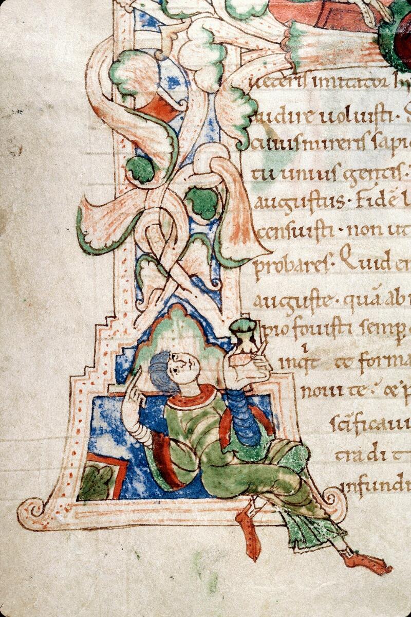 Alençon, Bibl. mun., ms. 0011, f. 001v - vue 5