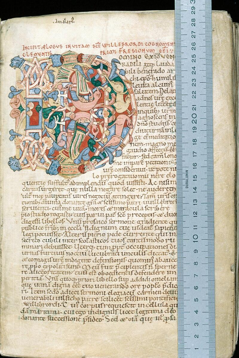 Alençon, Bibl. mun., ms. 0014, f. 012 - vue 1