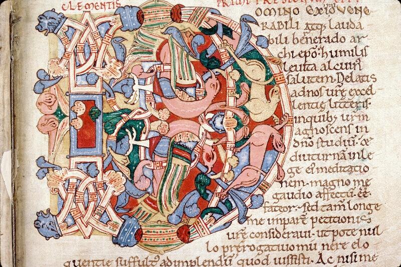 Alençon, Bibl. mun., ms. 0014, f. 012 - vue 3