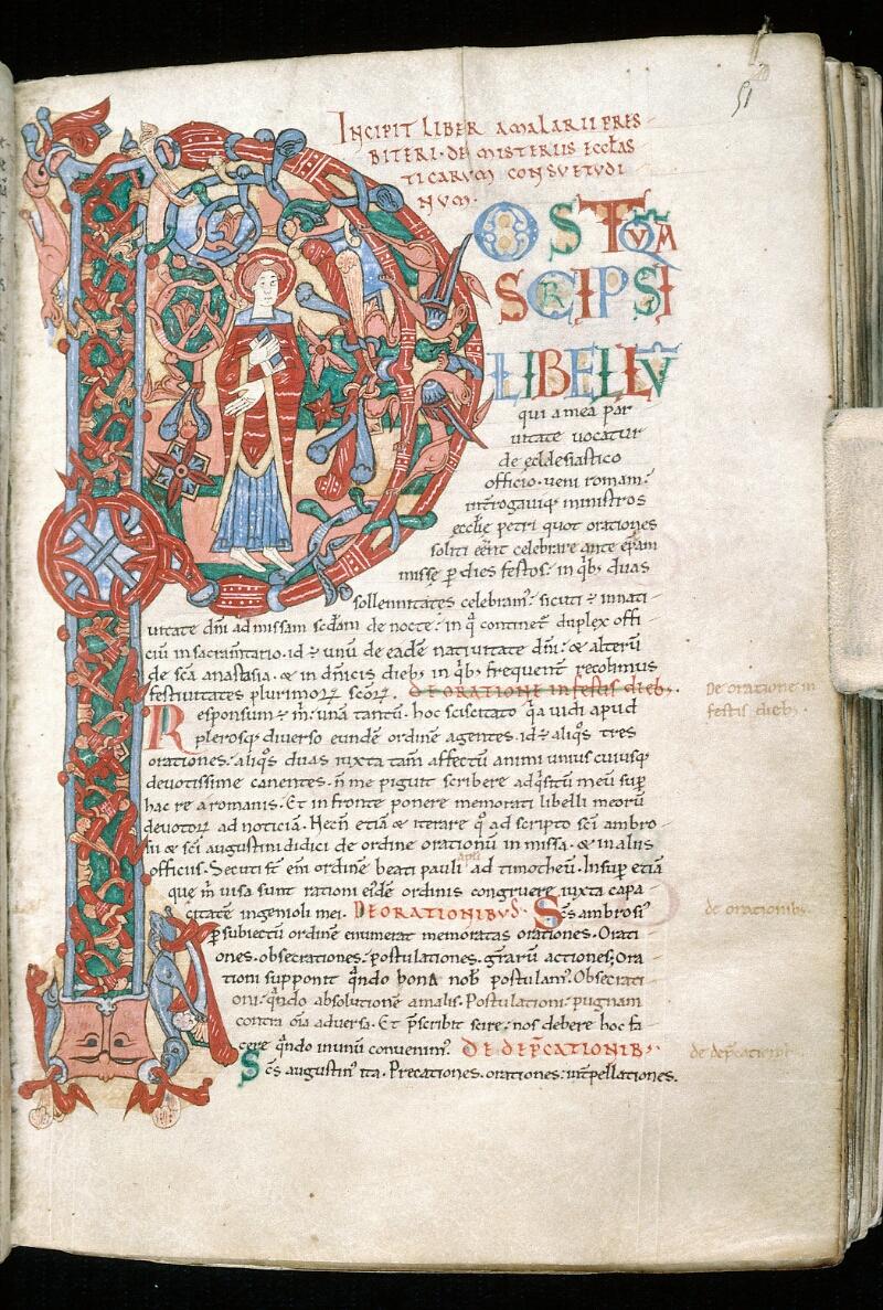 Alençon, Bibl. mun., ms. 0014, f. 051 - vue 1