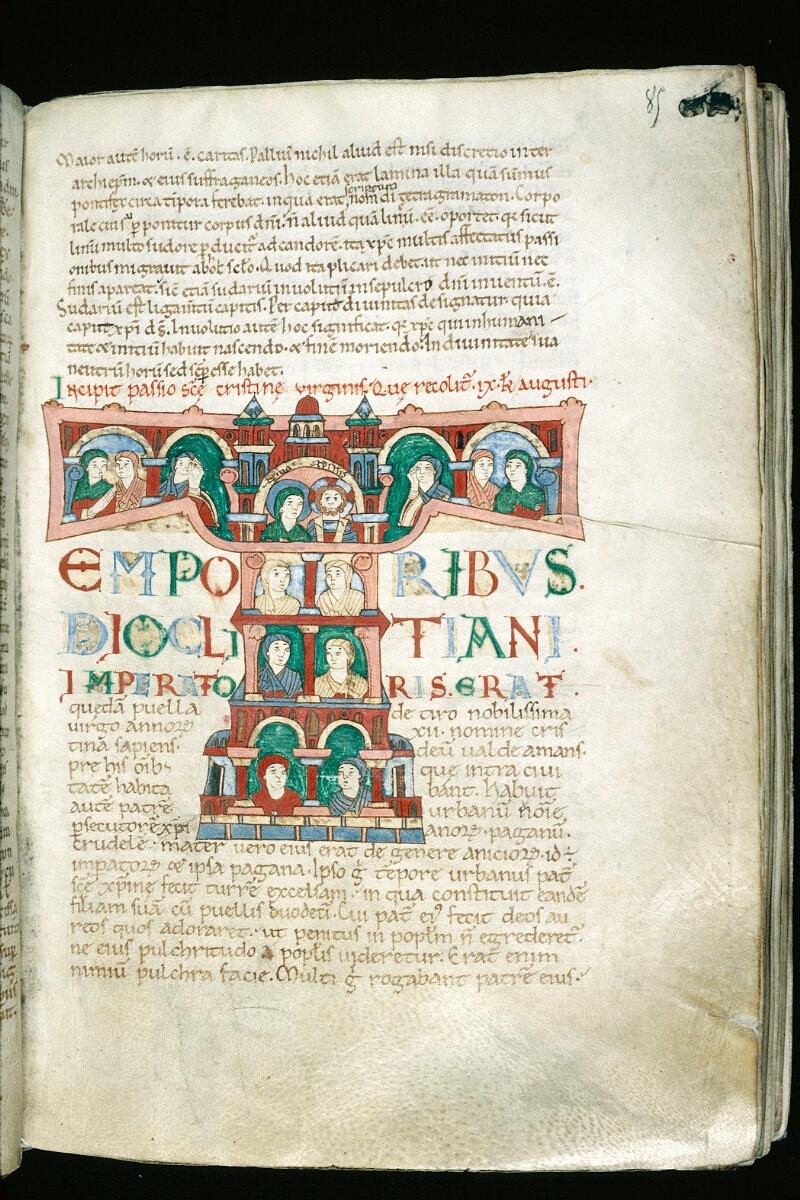 Alençon, Bibl. mun., ms. 0014, f. 085 - vue 1
