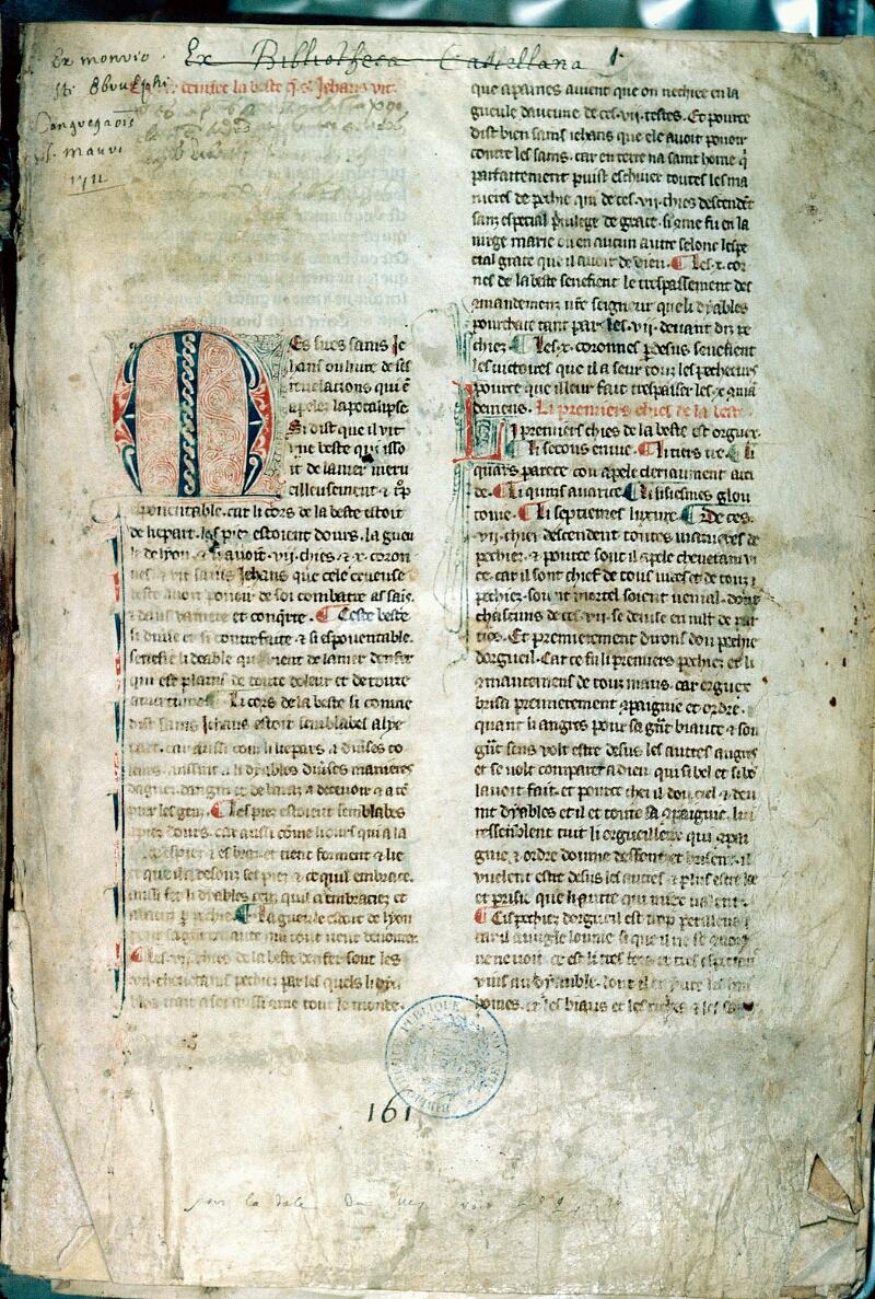 Alençon, Bibl. mun., ms. 0027, f. 001