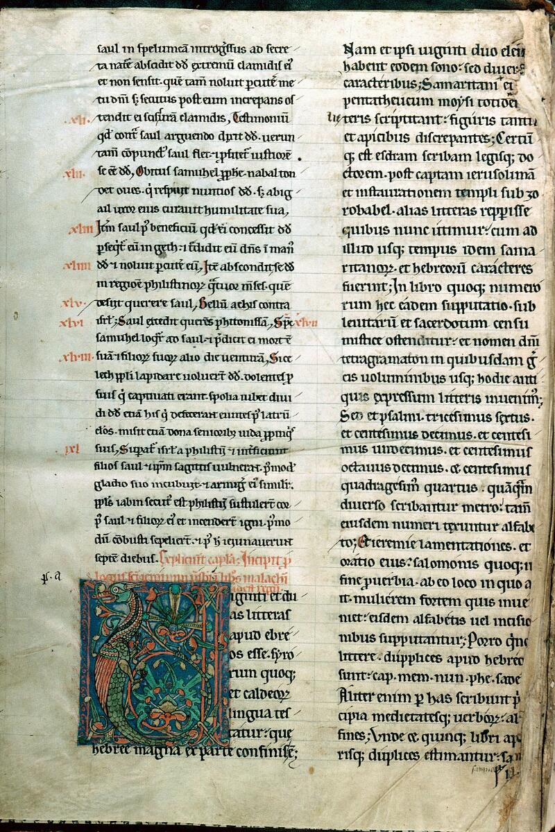 Alençon, Bibl. mun., ms. 0053, t. II, f. 001v - vue 1