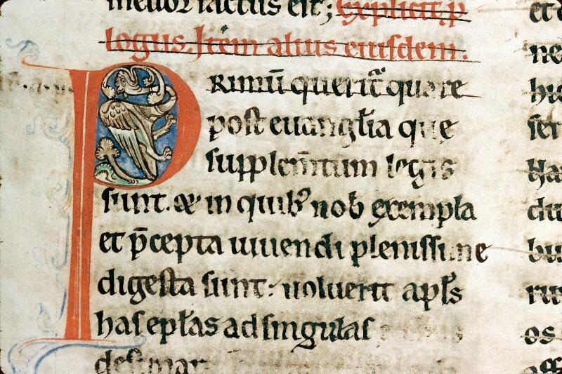 Alençon, Bibl. mun., ms. 0053, t. IV, f. 001v