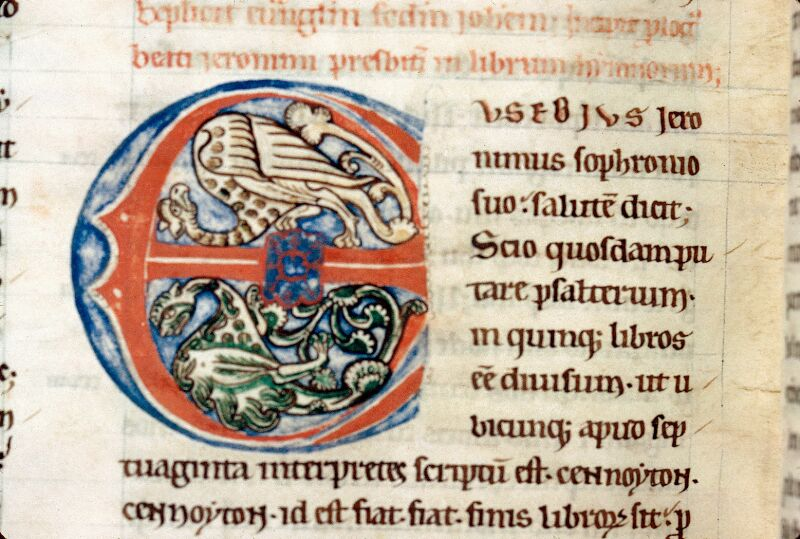 Alençon, Bibl. mun., ms. 0053, t. IV, f. 181v