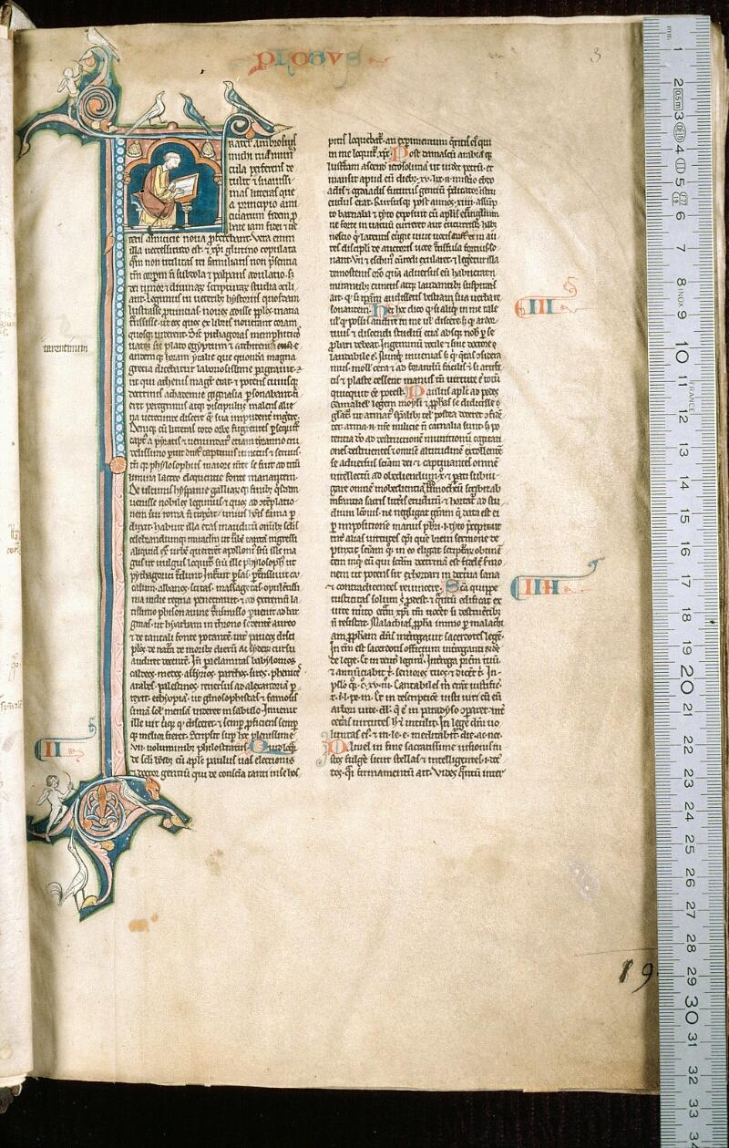 Alençon, Bibl. mun., ms. 0054, f. 003 - vue 1