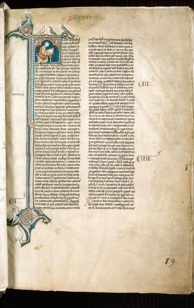 Alençon, Bibl. mun., ms. 0054, f. 003 - vue 2