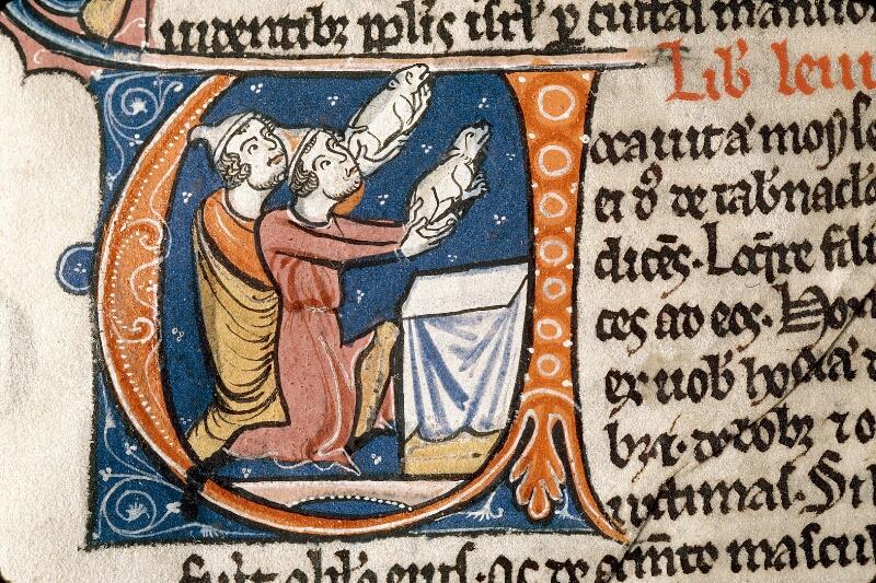 Alençon, Bibl. mun., ms. 0054, f. 030v - vue 2