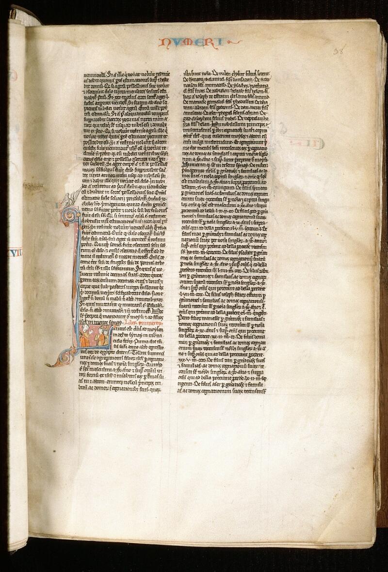 Alençon, Bibl. mun., ms. 0054, f. 038 - vue 1