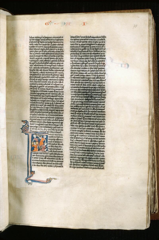 Alençon, Bibl. mun., ms. 0054, f. 077 - vue 1