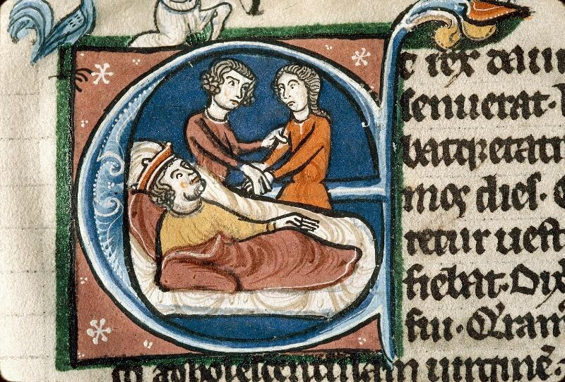 Alençon, Bibl. mun., ms. 0054, f. 096v - vue 2