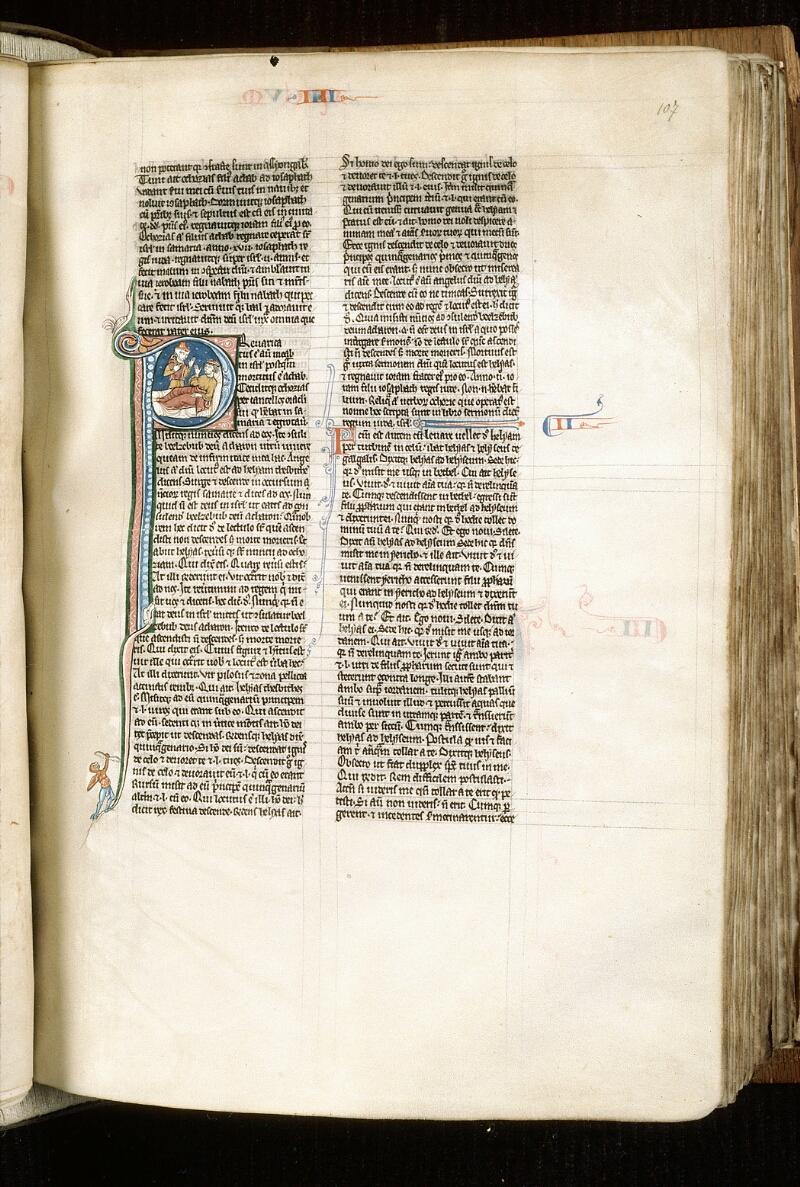 Alençon, Bibl. mun., ms. 0054, f. 107 - vue 1