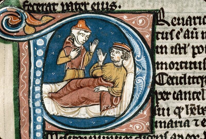 Alençon, Bibl. mun., ms. 0054, f. 107 - vue 2