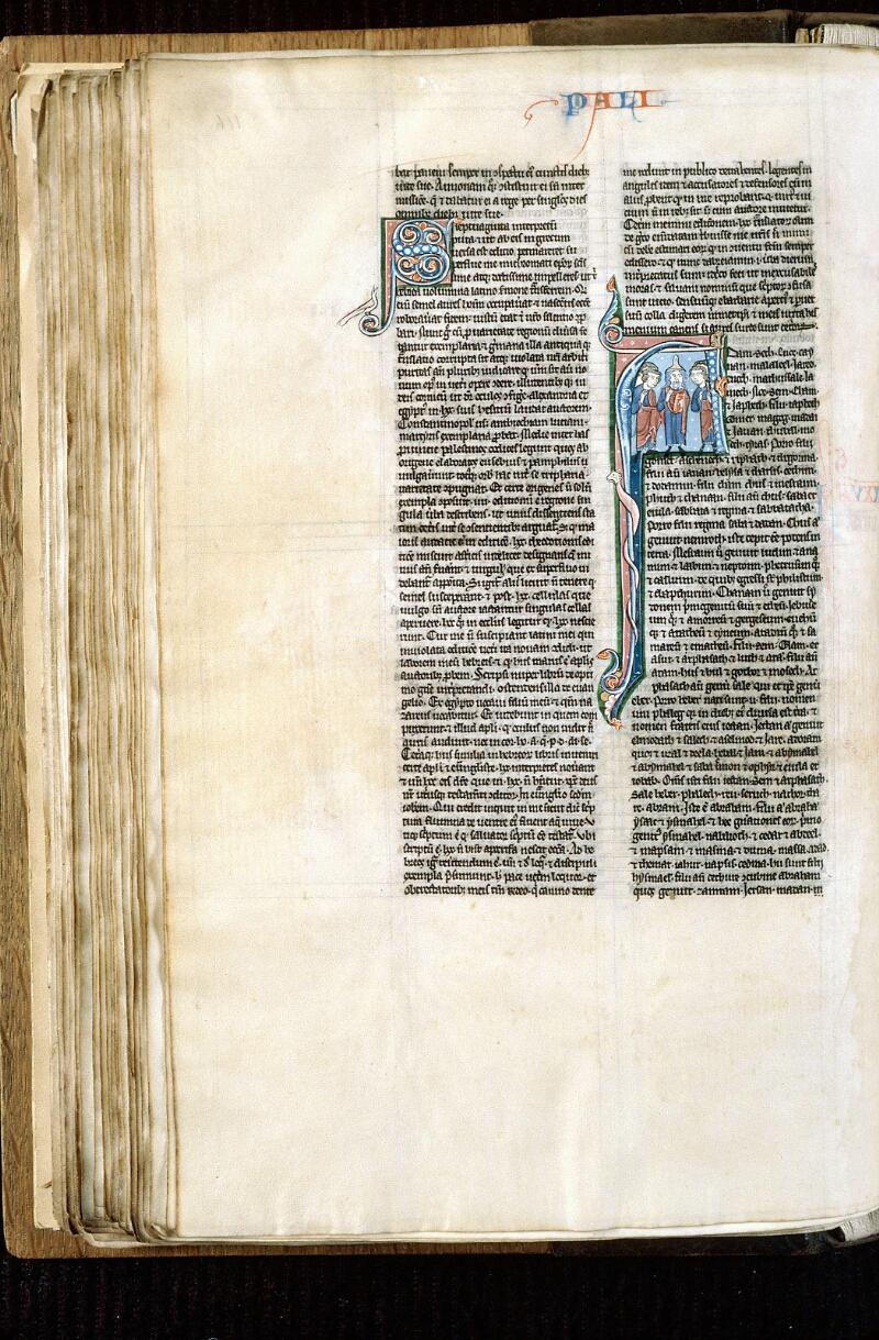 Alençon, Bibl. mun., ms. 0054, f. 116v - vue 1