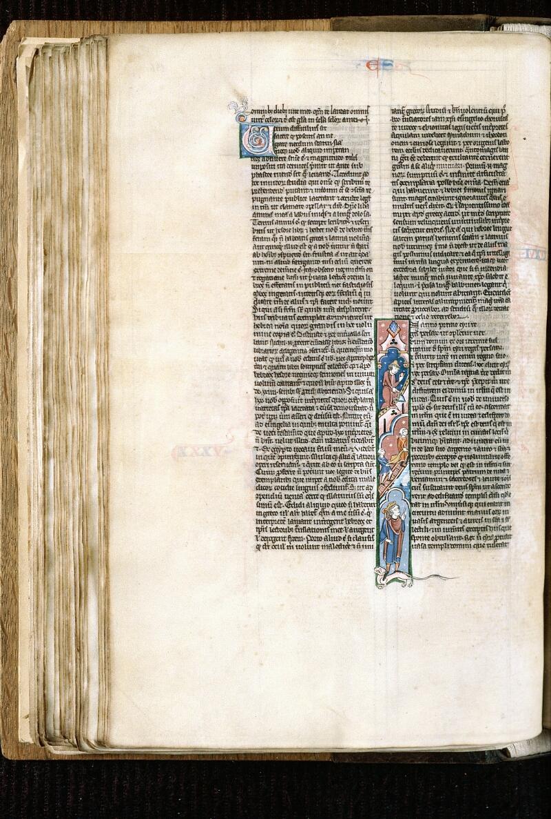 Alençon, Bibl. mun., ms. 0054, f. 136v - vue 1