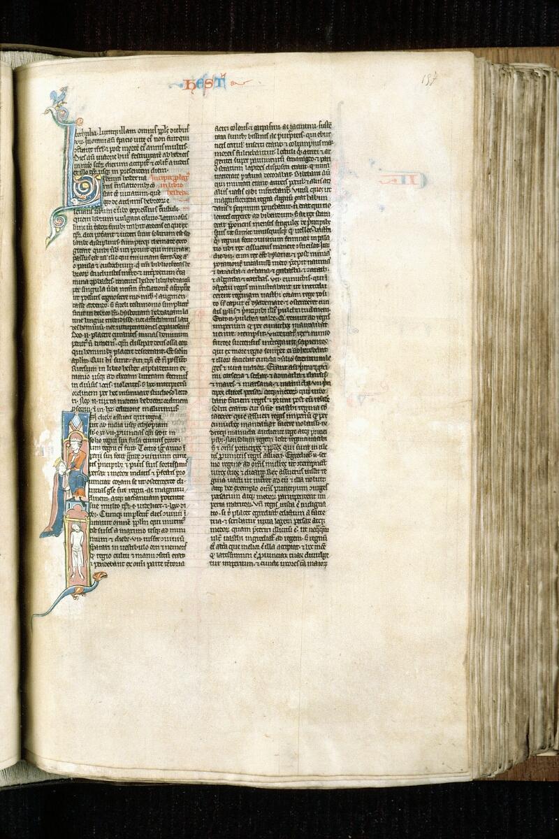 Alençon, Bibl. mun., ms. 0054, f. 157 - vue 1