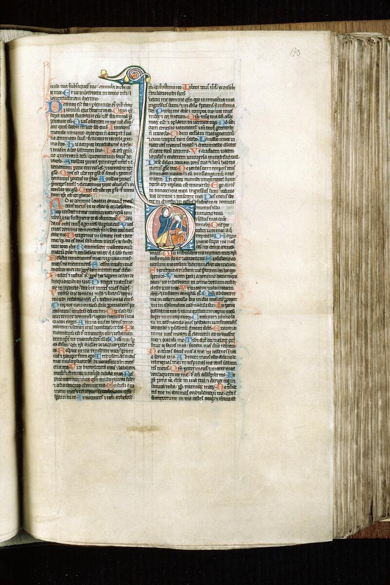 Alençon, Bibl. mun., ms. 0054, f. 173 - vue 1