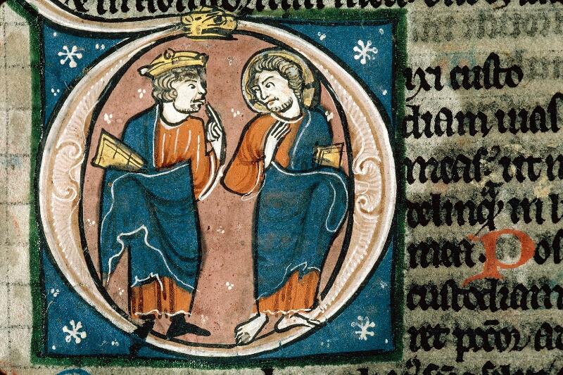 Alençon, Bibl. mun., ms. 0054, f. 175 - vue 2