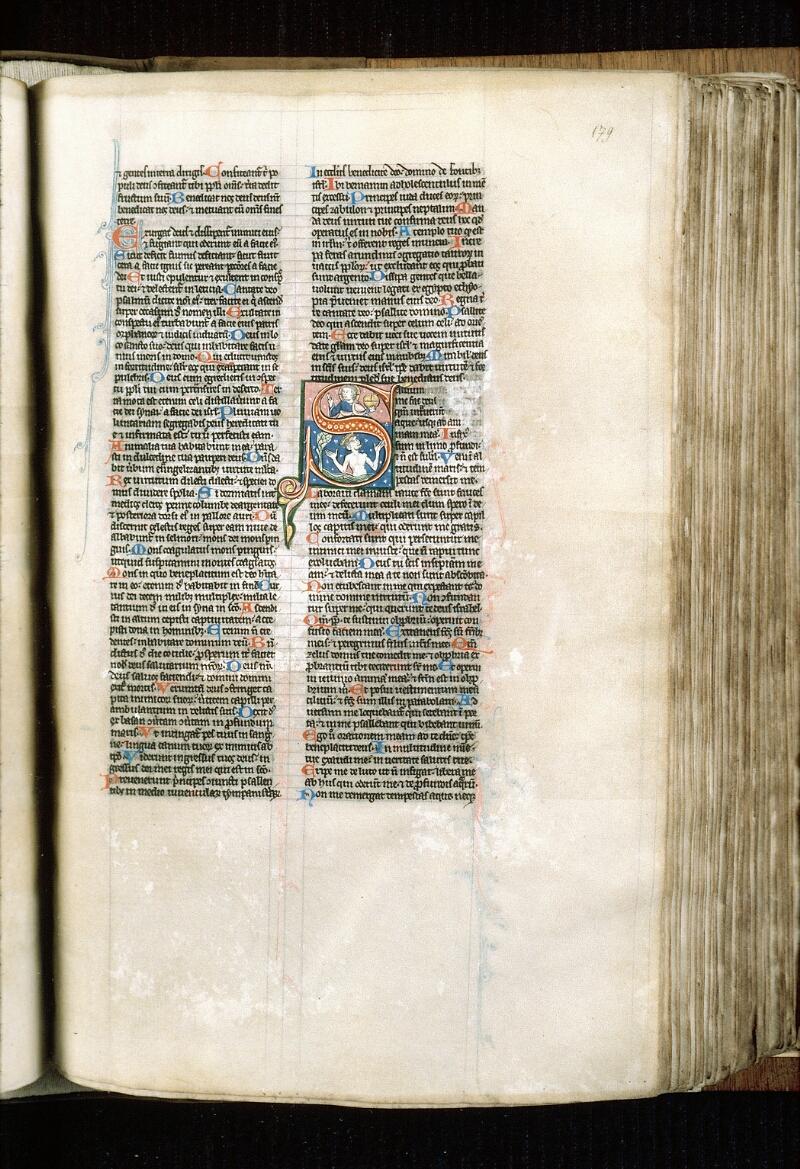 Alençon, Bibl. mun., ms. 0054, f. 179 - vue 1