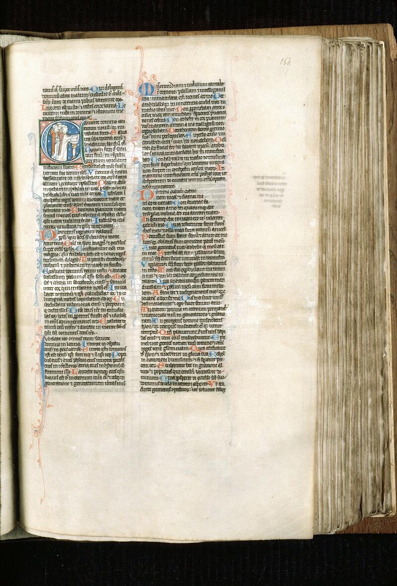 Alençon, Bibl. mun., ms. 0054, f. 184 - vue 1