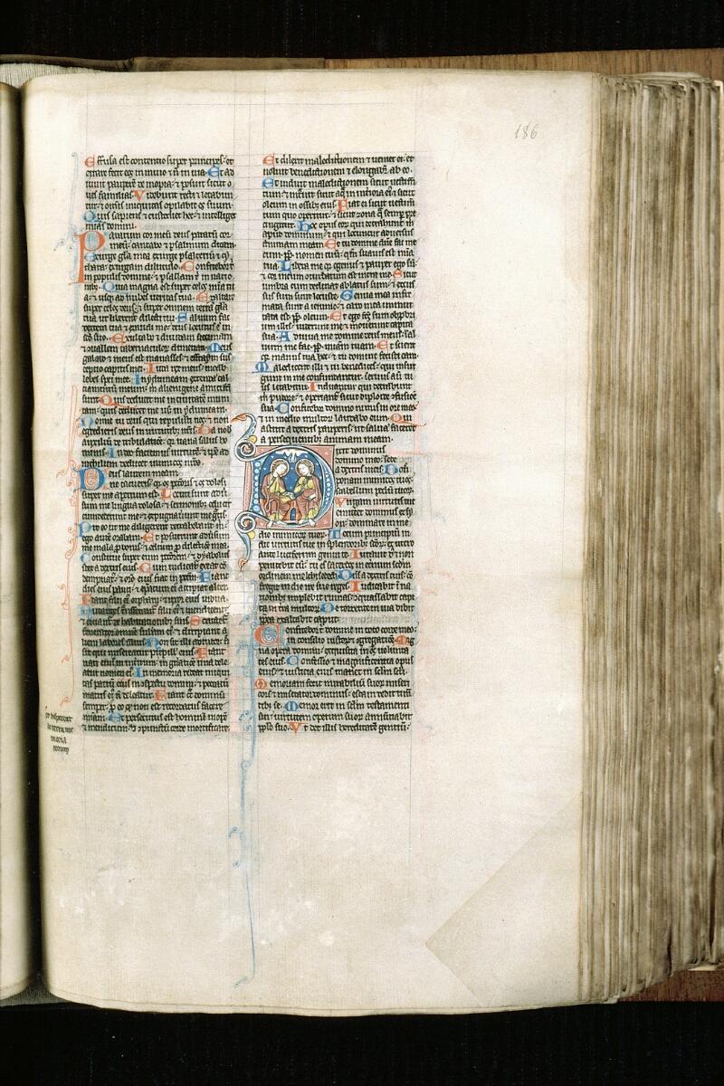 Alençon, Bibl. mun., ms. 0054, f. 186 - vue 1