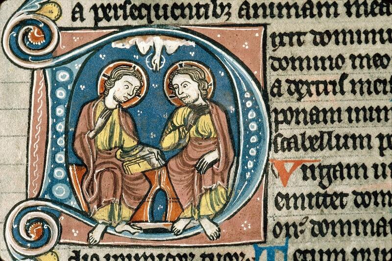 Alençon, Bibl. mun., ms. 0054, f. 186 - vue 2