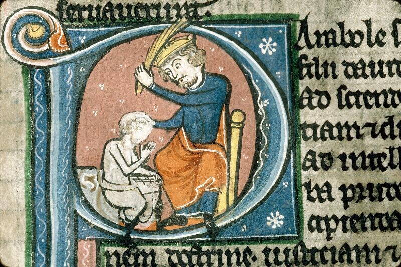 Alençon, Bibl. mun., ms. 0054, f. 191 - vue 3