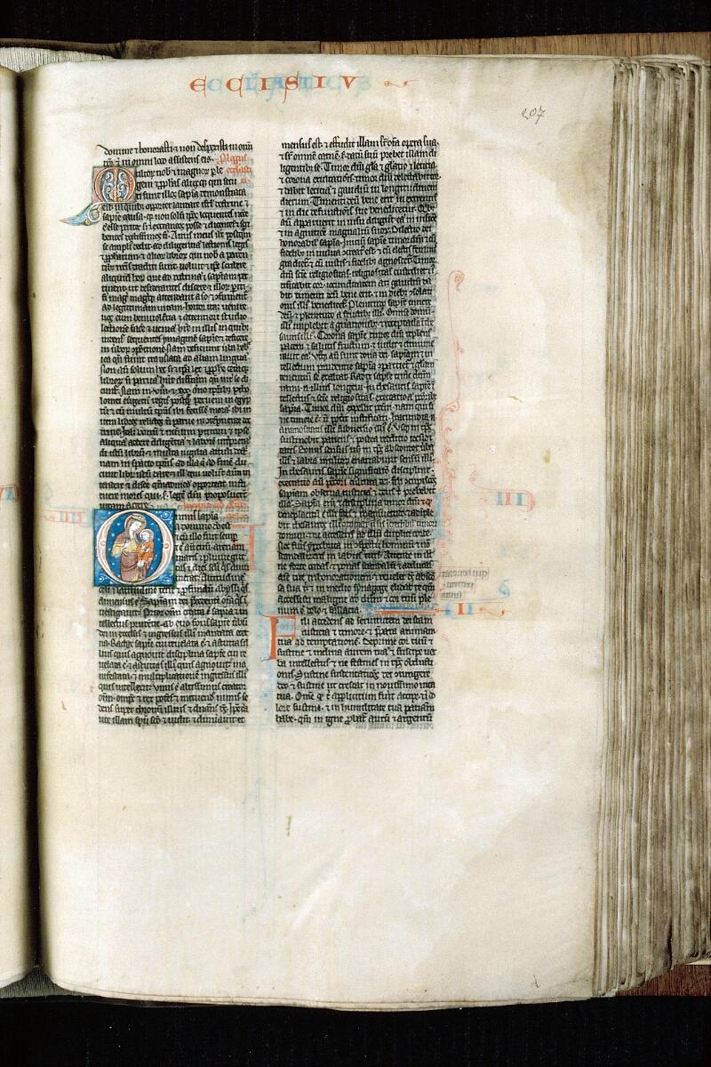 Alençon, Bibl. mun., ms. 0054, f. 207 - vue 1